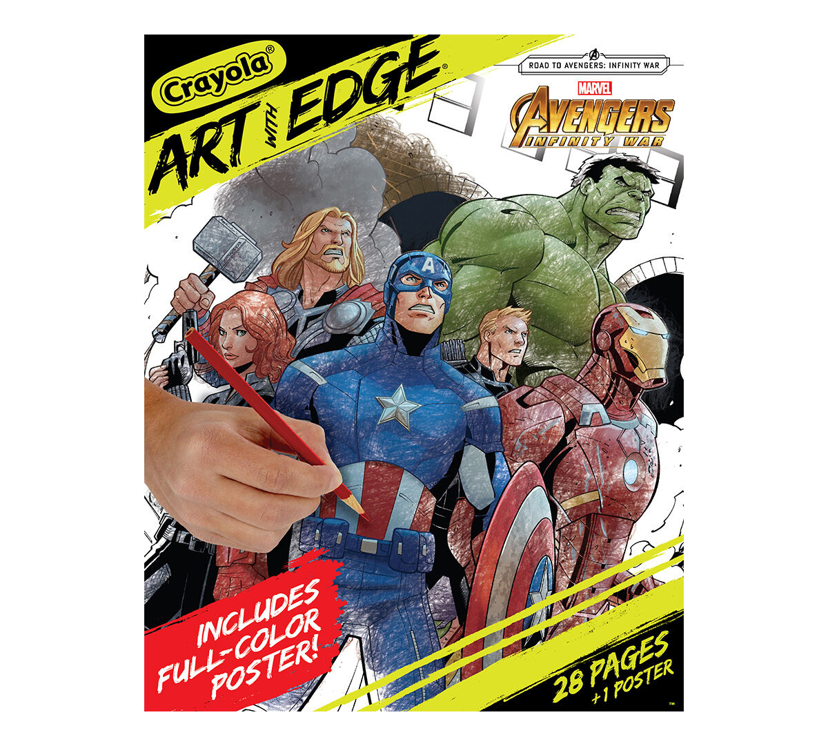Crayola Art With Edge Marvel Avengers