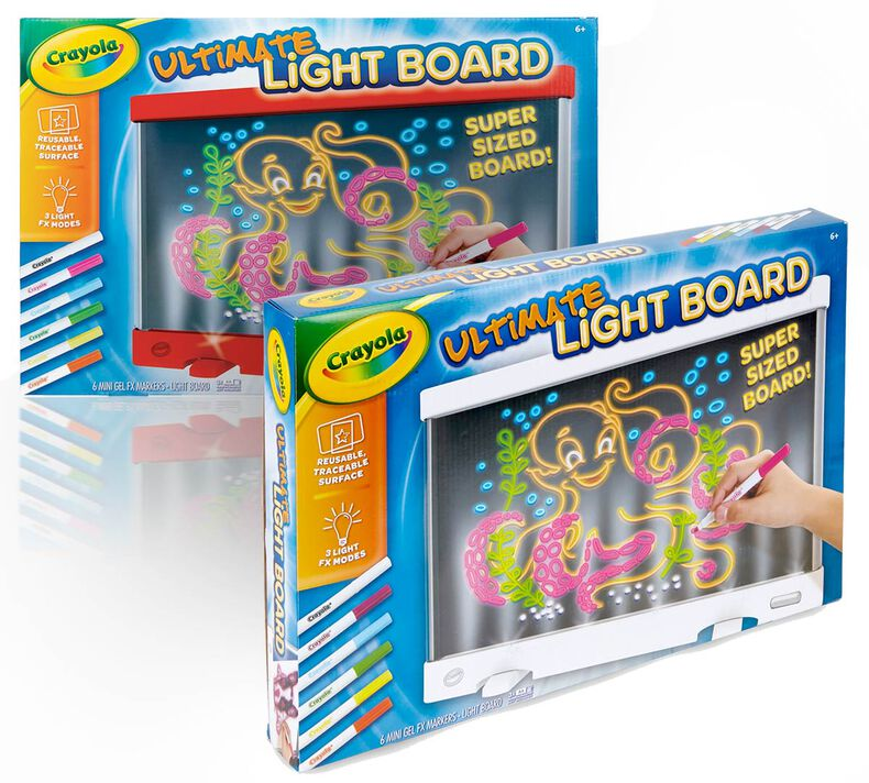 Ultimate Light Board, Choose Your Color