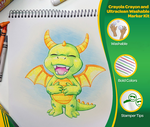 Crayon and Marker Fun Pack Front View