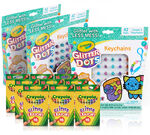 Glitter Kids Party Favors & Party Activity Set Front View of Components