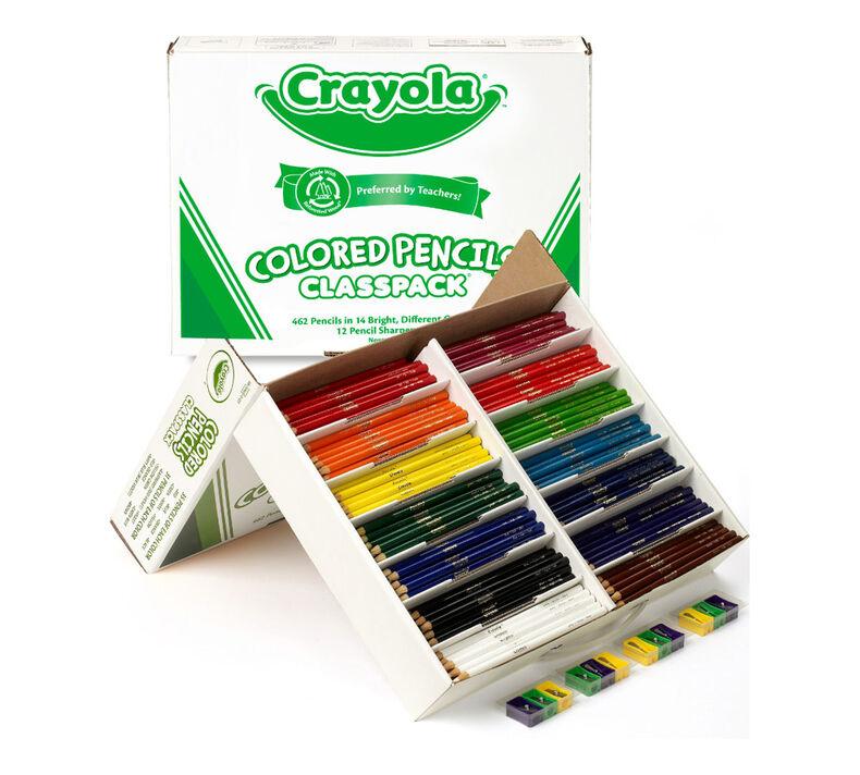 Colored Pencils Classpack, 462 Count, 14 Colors