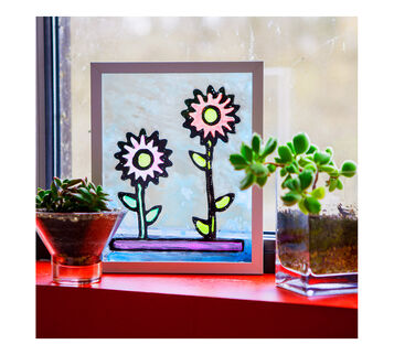 Stained Glass Craft Example