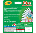 Fine Line Fabric Markers, 10 Count Front View