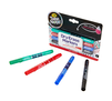 Take Note Low Odor Dry Erase Markers, 4 Count Right Angle and Markers