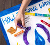 Crayola Project 6 ct. Quick Dry Paint Sticks Lifestyle