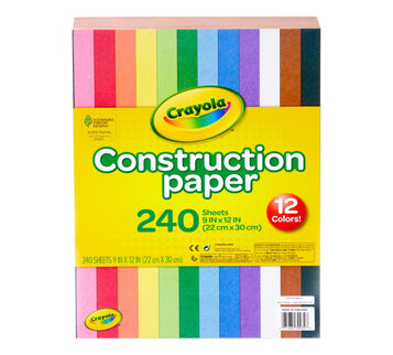 240 Count Construction Paper front