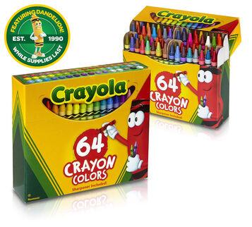 crayola crayons 64 count - Crayola Crayons Pictures