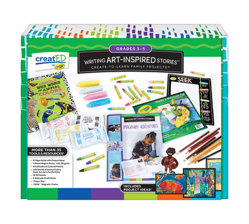 creatED® Family Engagement Kits, Writing Art-Inspired Stories: Grades 3-5: Imaginary Adventures Front View