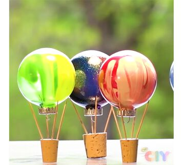 DIY Hot Air Balloons Craft