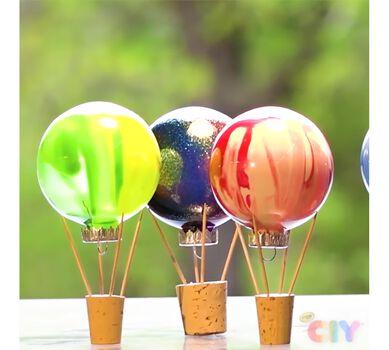 Hot Air Balloon Decorations Craft Kit