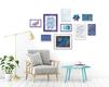 Signature DIY Gallery Designer gallery wall example