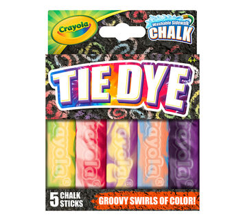 Special Effects Sidewalk Chalk - Tie Dye