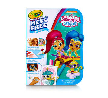 Color Wonder Mess Free On the Go, Shimmer and Shine