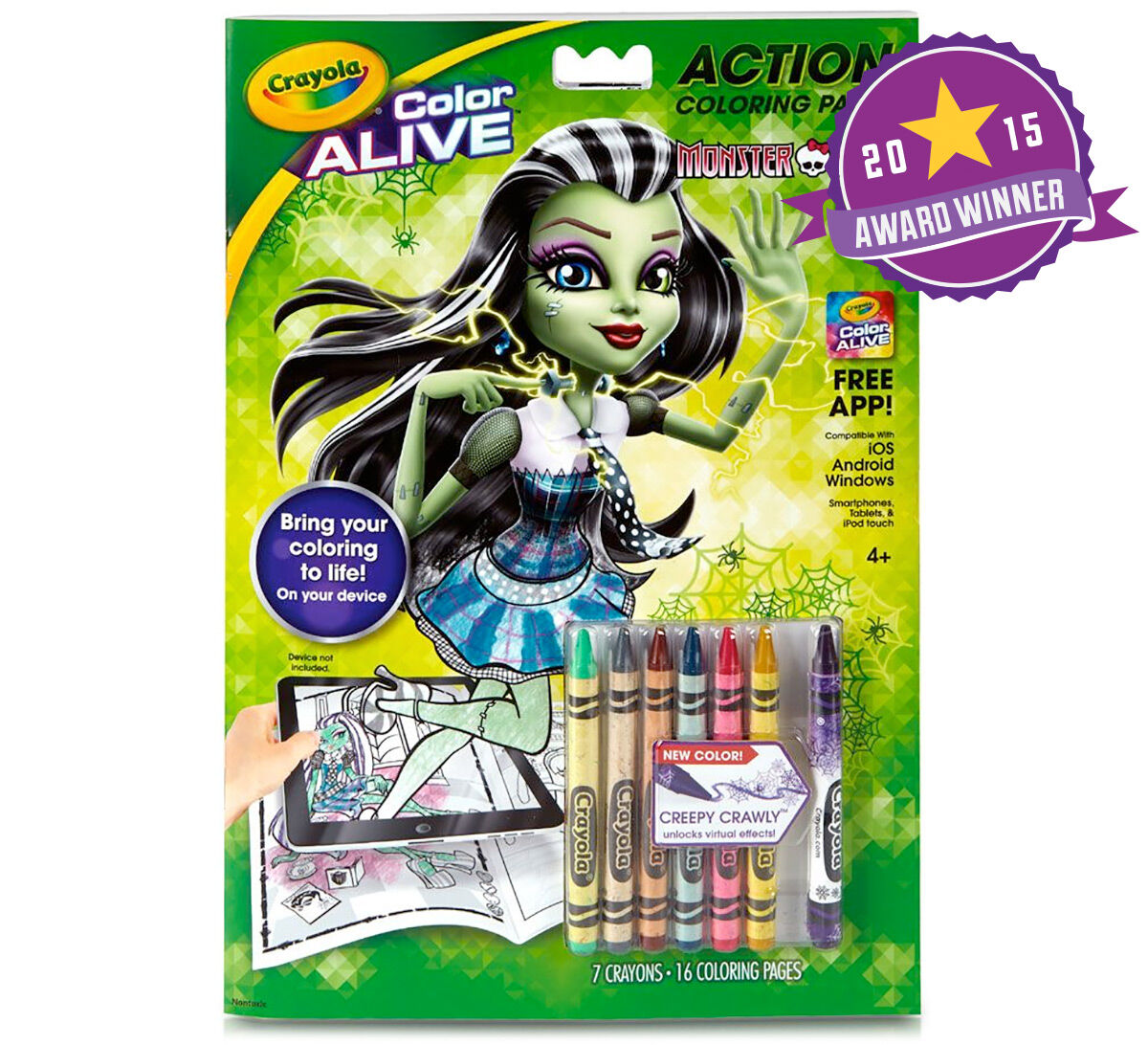 color alive monster high