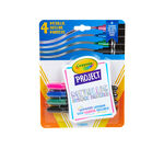 Crayola Project Metallic Outline Markers, 4 Count Front View