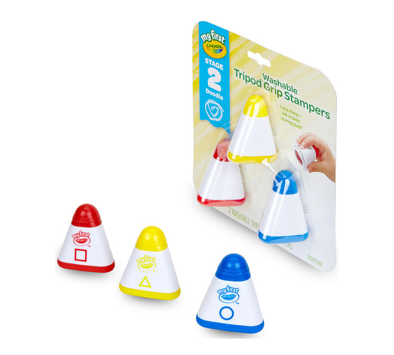 My First Washable Tripod Grip Stampers