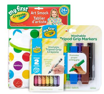 My First Crayola Little Artist Bundle Set