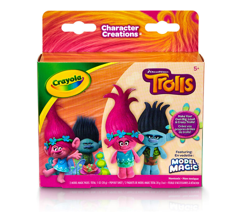 Crayola Model Magic Character Creations Trolls Biggie & Branch