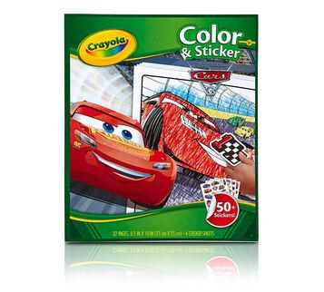 Color & Sticker, Cars 3