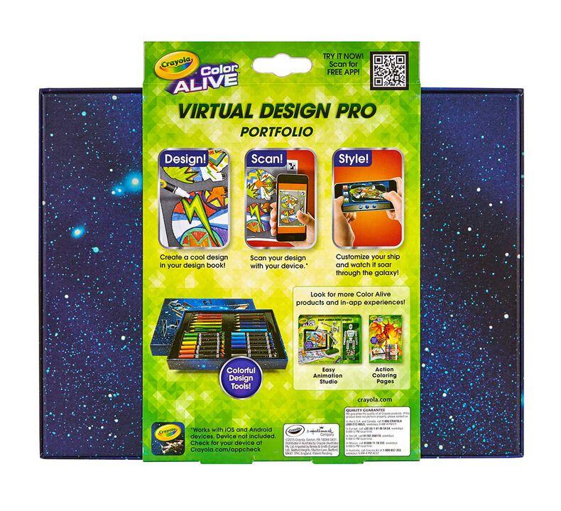 Virtual Design Pro Portfolio Star Wars Crayola