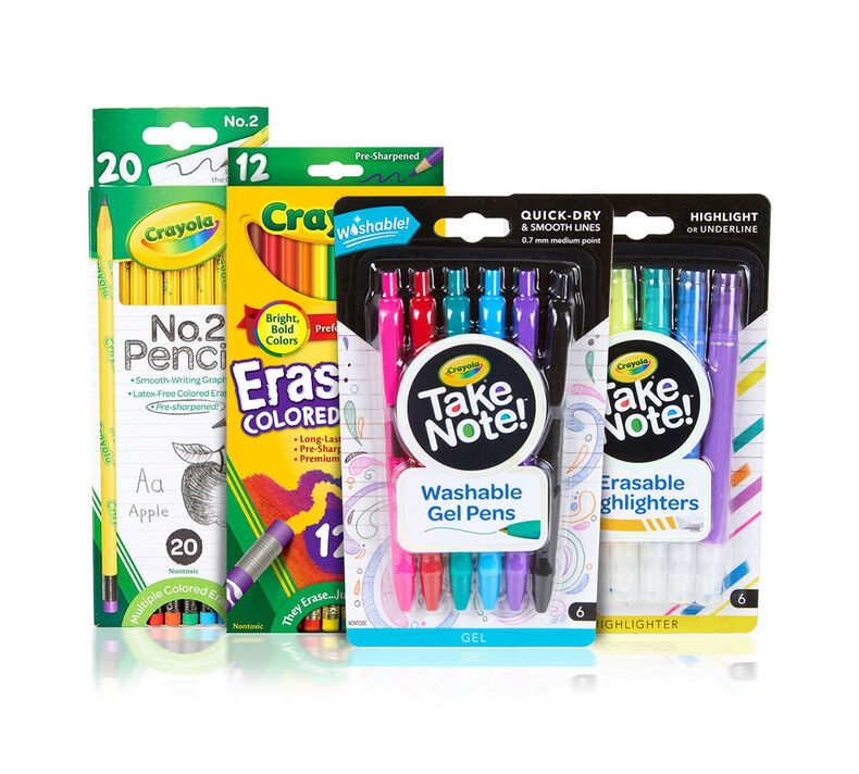 Essential Middle & High School Supplies Kit