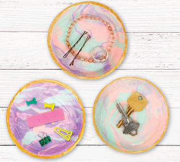 Signature DIY Trinket Tray Craft