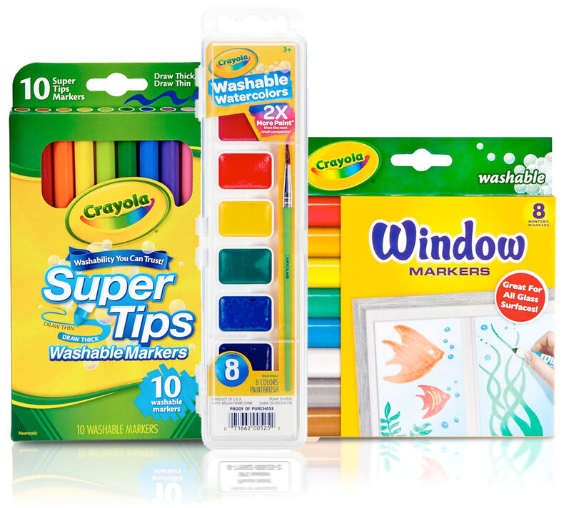 Watercolor Calendar Craft Kit