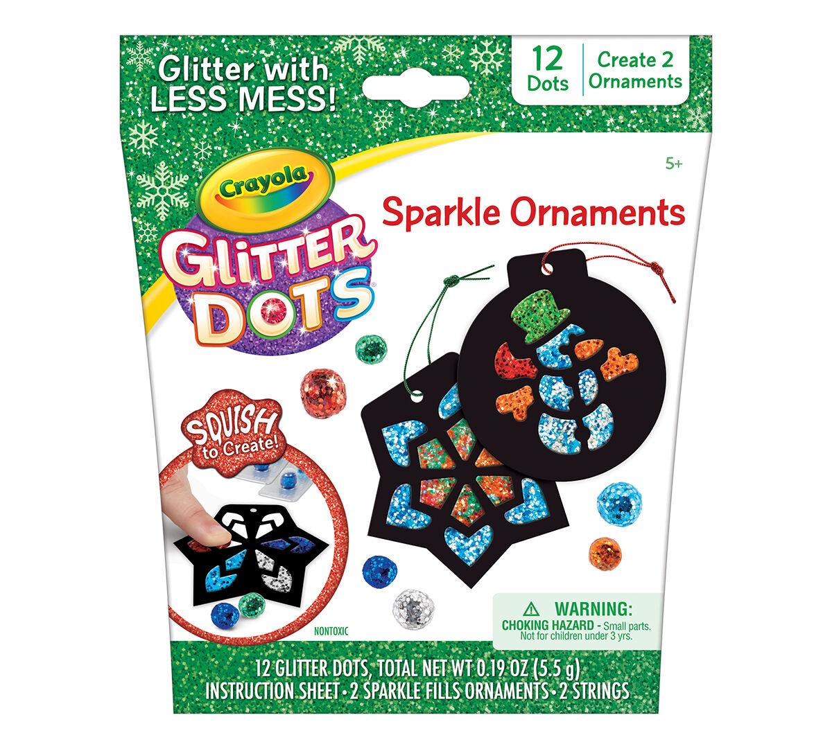 Glitter Dots Ornament Craft Kit