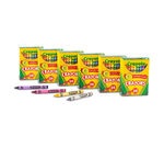 24 count Crayons 6 pack