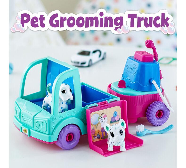 Scribble Scrubbie Pets Pet Grooming Truck