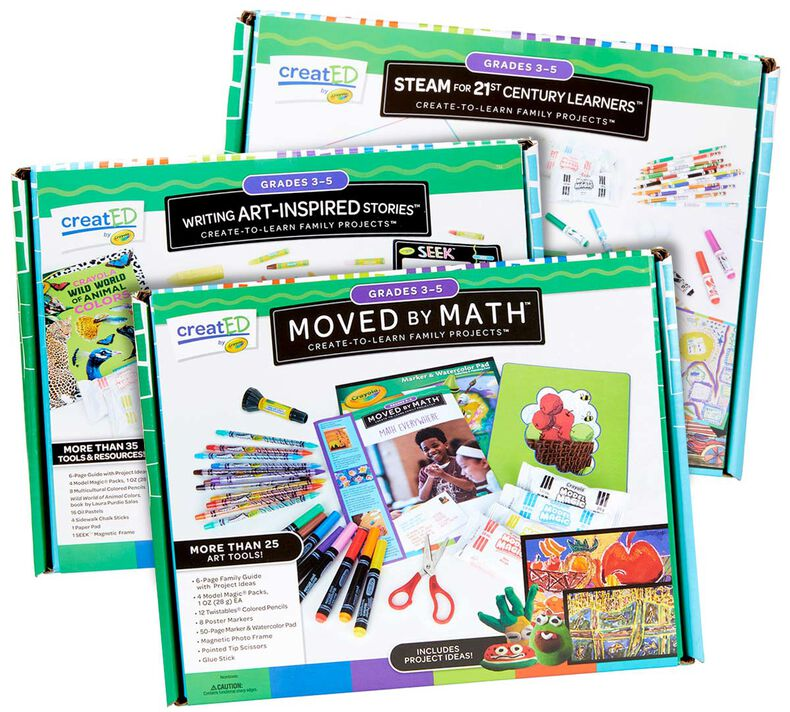 3-in-1 creatED Create-to-Learn Activity Kits, Grades 3-5