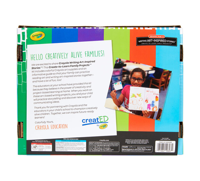 creatED® Family Engagement Kits, Writing Art-Inspired Stories: Grades PK-2: Tell Me a Story