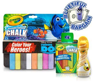 Crayola Sidewalk Chalk & Bubbles Value Set