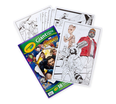 Crayola Giant Coloring Pages Avengers Oversized Coloring Pages