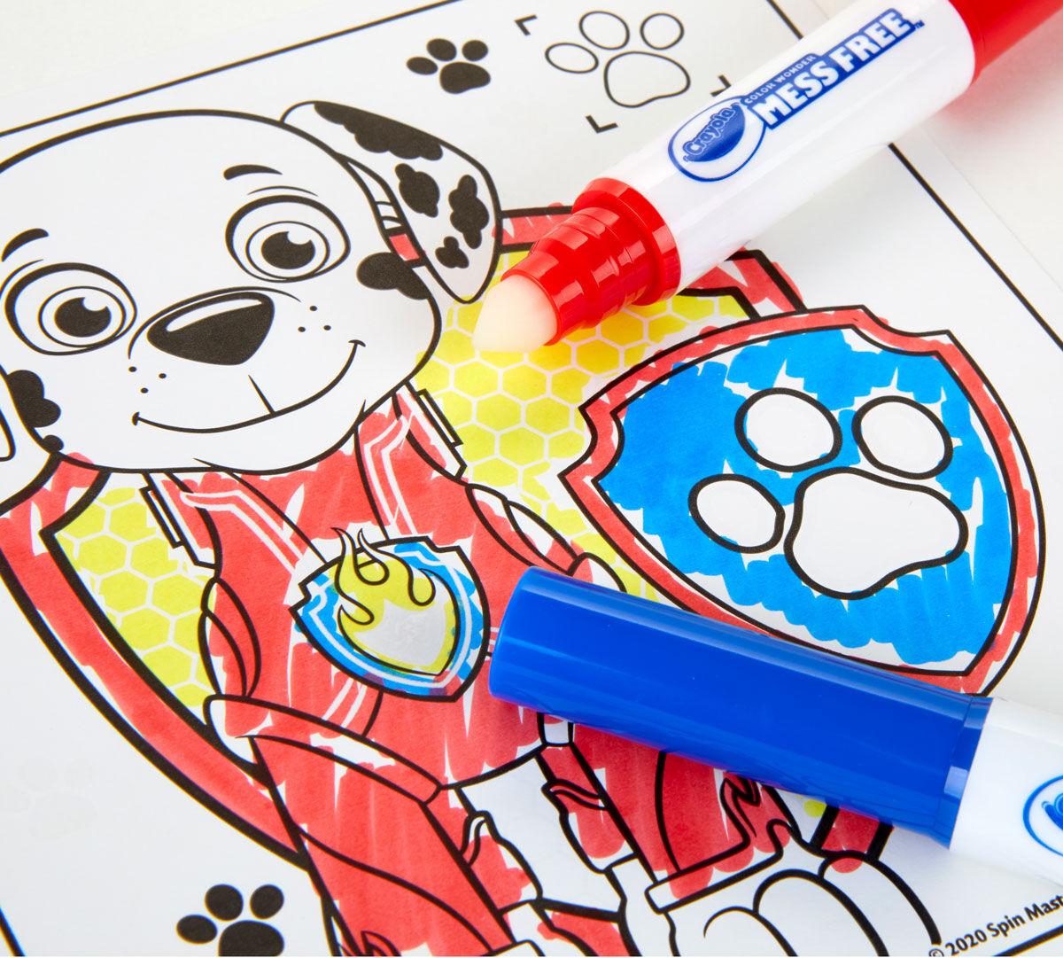 Color Wonder Paw Patrol Coloring & Activity Pad Crayola.com Crayola
