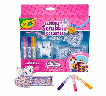 Scribble Scrubbie Pets Princess Playset