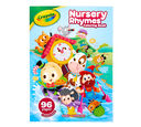 Nursery Rhymes Coloring Book Front View