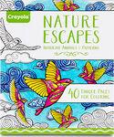 Nature Escapes Coloring Books