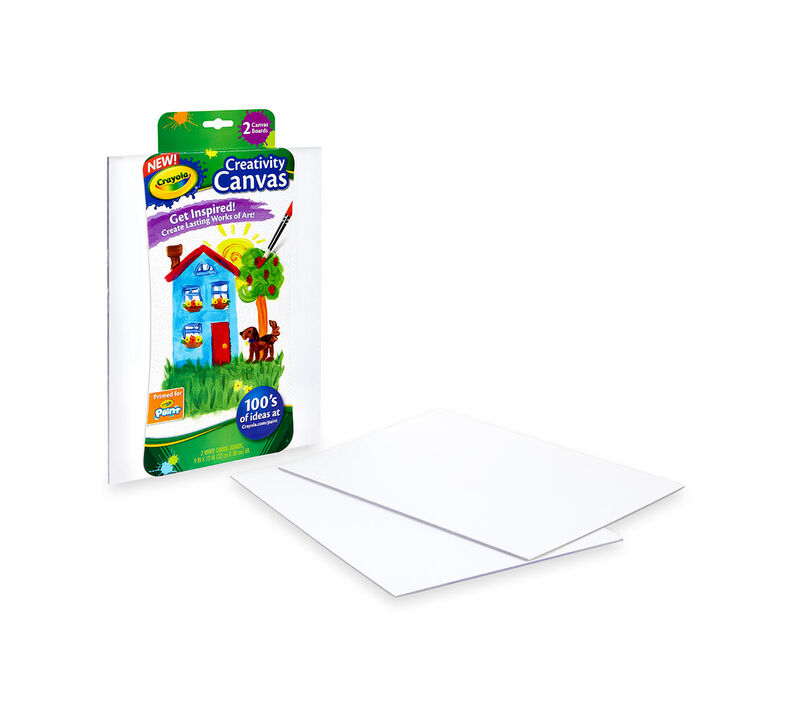 Crayola Creativity Canvas, White