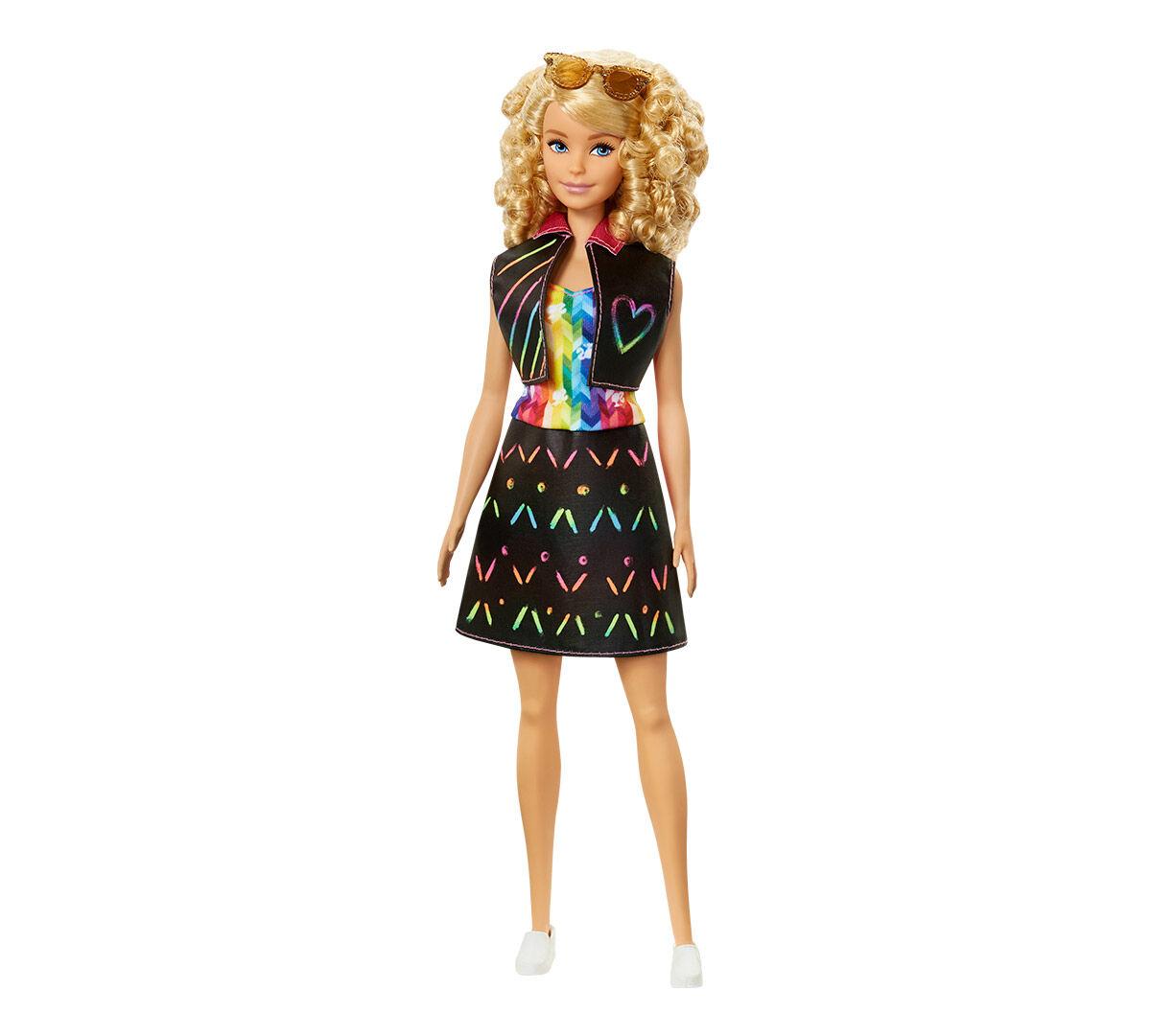 Barbie Crayola Rainbow Design 2