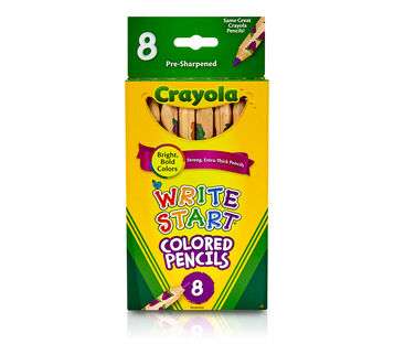Write Start Colored Pencils 8 ct.
