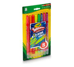 Twistable Crayons Extreme Colors 8 count front