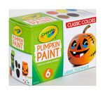 Acrylic Pumpkin Painting Set, Classic Colors