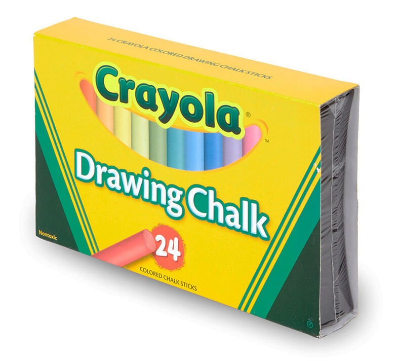Drawing Chalk, 24 Count