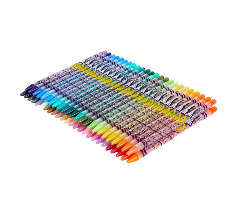 Twistables Colored Pencils, 50 Count