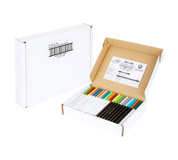 80 Count Super Tips Markers Package and Markers