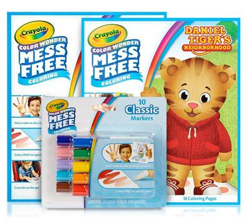 Daniel Tiger Color Wonder Mess Free Gift Set