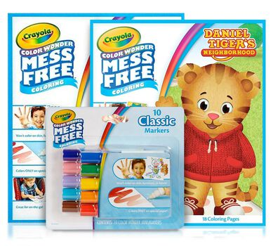 Color Wonder Mess Free Daniel Tiger's Neighborhood Gift Set