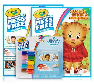 Color Wonder Mess Free Daniel Tiger Gift Set| Crayola.com | Crayola