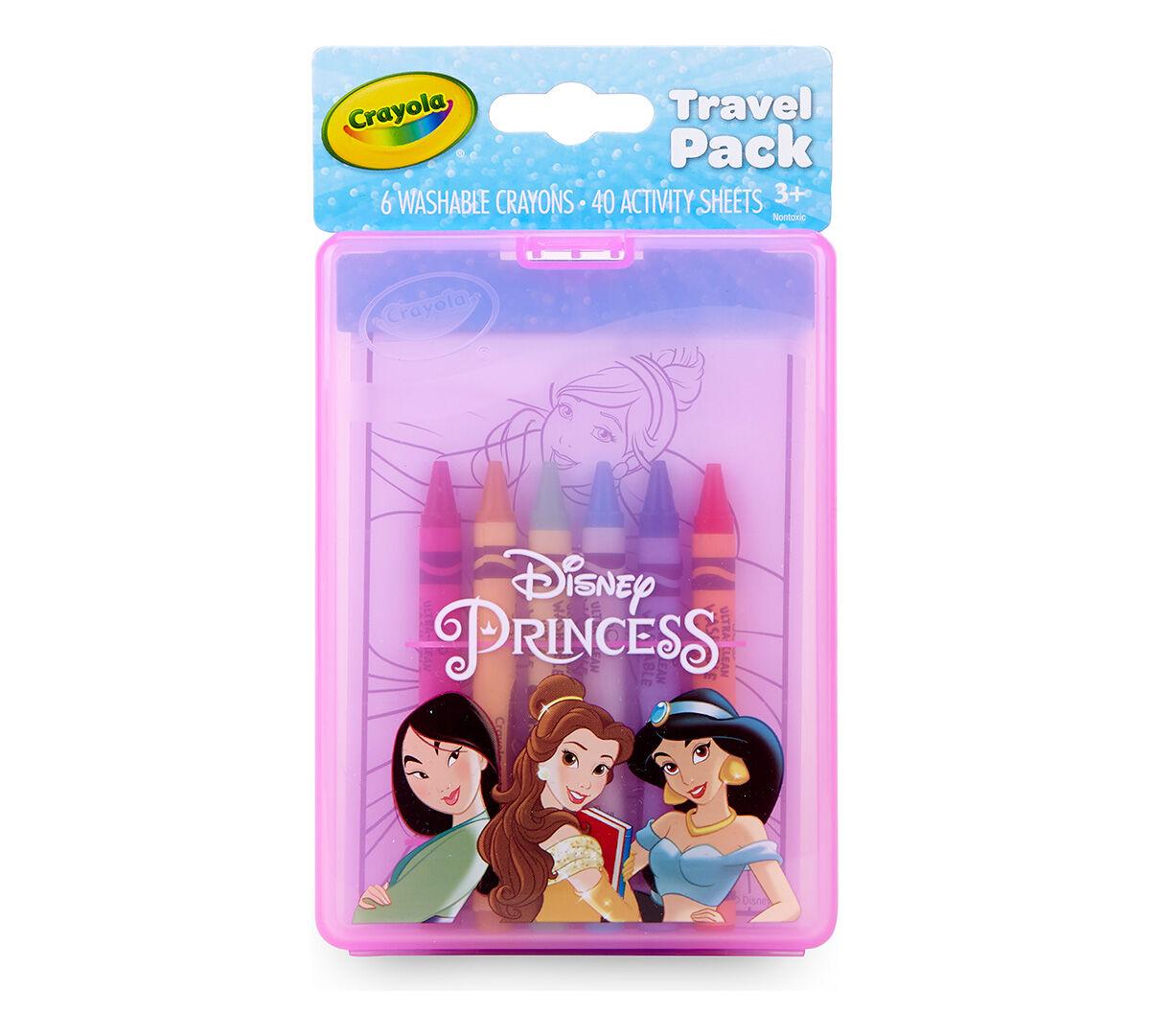 Disney Princess Coloring & Travel Kit For Kids Crayola.com Crayola